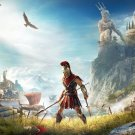 "Assassin's Creed Odyssey Ancient Greece 18""x28"" (45cm/70cm) Canvas Print"