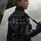 "Death Stranding Norman Reedus Mads Mikkelsen Kojima  13""x19"" (32cm/49cm) Polyester Fabric Poster"