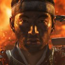 "Ghost of Tsushima  13""x19"" (32cm/49cm) Polyester Fabric Poster"