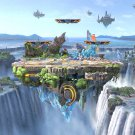 "Super Smash Bros. Ultimate 18""x28"" (45cm/70cm) Canvas Print"