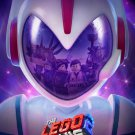 """The Lego Movie 2 The Second Part  13""""x19"""" (32cm/49cm) Polyester Fabric Poster"""