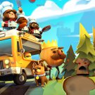 """Overcooked 2 Game 13""""x19"""" (32cm/49cm) Polyester Fabric Poster"""