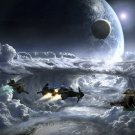 """Star Citizen Game 13""""x19"""" (32cm/49cm) Polyester Fabric Poster"""