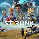 """Starlink Battle for Atlas Game 13""""x19"""" (32cm/49cm) Polyester Fabric Poster"""