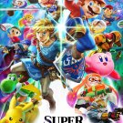"""Super Smash Bros. Ultimate  13""""x19"""" (32cm/49cm) Polyester Fabric Poster"""