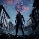 """Devil May Cry 5  13""""x19"""" (32cm/49cm) Polyester Fabric Poster"""