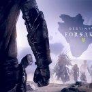 """Destiny 2 Forsaken Game 18""""x28"""" (45cm/70cm) Canvas Print"""