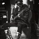 "Lemmy Kilmister 13""x19"" (32cm/49cm) Polyester Fabric Poster"