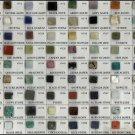 "The World of Semi-precious Stone Sample Chart 13""x19"" (32cm/49cm) Polyester Fabric Poster"