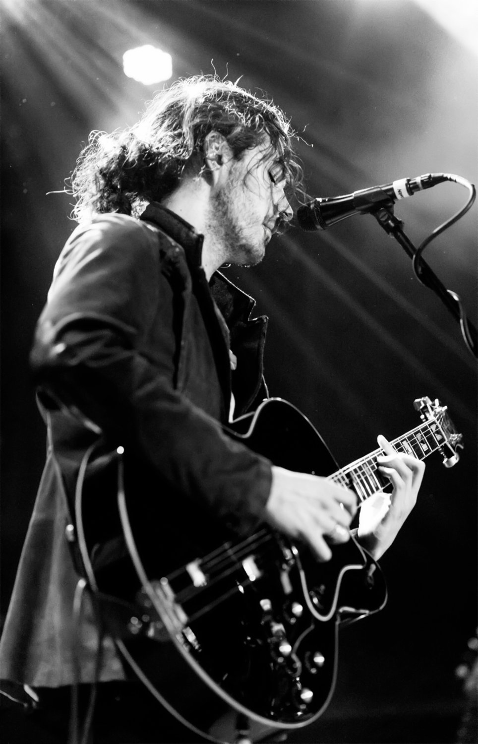 "Hozier  13""x19"" (32cm/49cm) Polyester Fabric Poster"