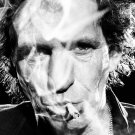 "Keith Richards 18""x28"" (45cm/70cm) Canvas Print"