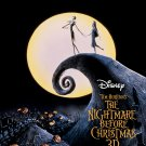 """The Burton's Nightmare Before Christmas 13""""x19"""" (32cm/49cm) Polyester Fabric Poster"""