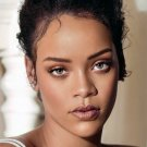 "Rihanna 18""x28"" (45cm/70cm) Canvas Print"