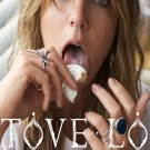 """Tove Lo Lady Wood 13""""x19"""" (32cm/49cm) Polyester Fabric Poster"""