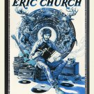 "Eric Church Concert Tour 18""x28"" (45cm/70cm) Canvas Print"