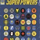 "Omnibus of X-men Mutant SuperPowers Chart  18""x28"" (45cm/70cm) Canvas Print"