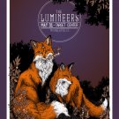 """The Lumineers Tour Concert  13""""x19"""" (32cm/49cm) Polyester Fabric Poster"""