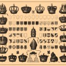 "Brockhaus and Efron Encyclopedic Dictionary Chart 18""x28"" (45cm/70cm) Poster"