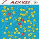 "The Myriad Monikers of Metropolis Menaces Chart 18""x28"" (45cm/70cm) Poster"