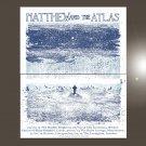 "Matthew and the Atlas Concert Tour  18""x28"" (45cm/70cm) Bundle of 2 Poster"