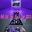 """Fall Out Boy M A N I A  13""""x19"""" (32cm/49cm) Polyester Fabric Poster"""