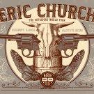 "Eric Church  13""x19"" (32cm/49cm) Polyester Fabric Poster"