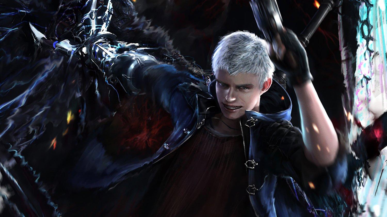 "Devil May Cry 5 Dante and Nero 18""x28"" (45cm/70cm) Poster"