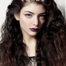 """Lorde 13""""x19"""" (32cm/49cm) Polyester Fabric Poster"""