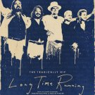 """The Tragically Hip Long Time Running 13""""x19"""" (32cm/49cm) Polyester Fabric Poster"""