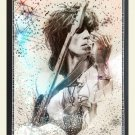 """Keith Richards   13""""x19"""" (32cm/49cm) Polyester Fabric Poster"""