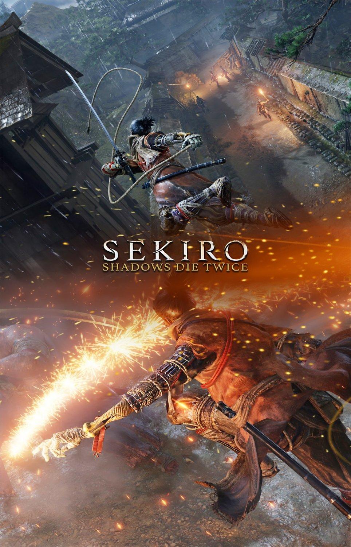 """Sekiro Shadows Die Twice  18""""x28"""" (45cm/70cm) Canvas Print"""