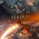 "Sekiro Shadows Die Twice  18""x28"" (45cm/70cm) Canvas Print"