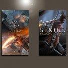 "Sekiro Shadows Die Twice Game  18""x28"" (45cm/70cm) Bundle of 2 Poster"