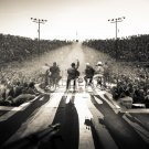 "Zac Brown Band Scene Tour 18""x28"" (45cm/70cm) Canvas Print"