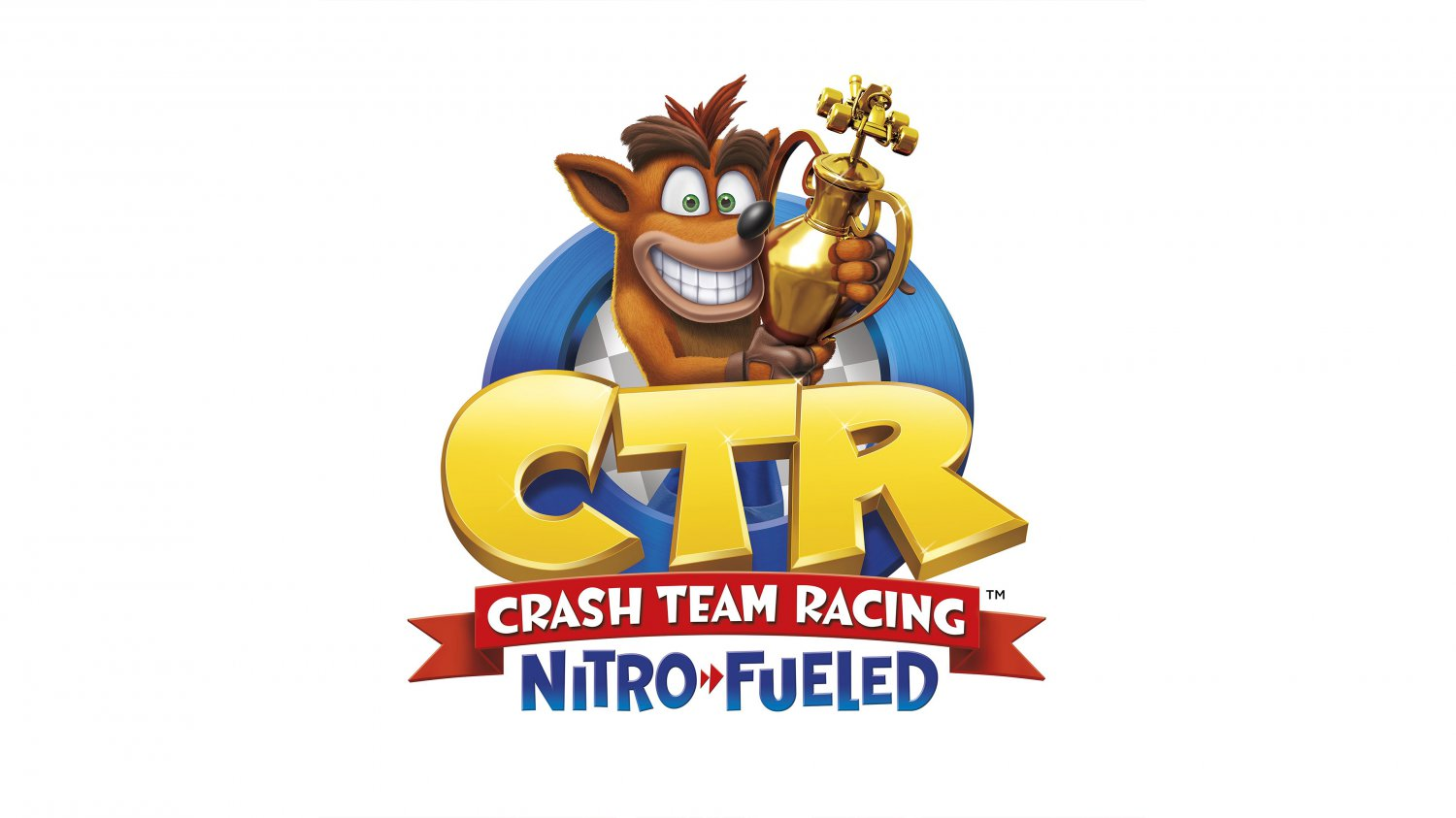 "Crash Team Racing Nitro Fueled 13""x19"" (32cm/49cm) Polyester Fabric Poster"