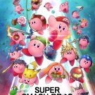 "Super Smash Bros Kirby 13""x19"" (32cm/49cm) Polyester Fabric Poster"
