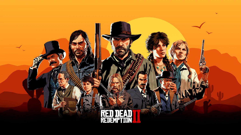 """Red Dead Redemption 2 18""""x28"""" (45cm/70cm) Canvas Print"""