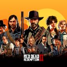 "Red Dead Redemption 2 18""x28"" (45cm/70cm) Canvas Print"