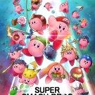 "Super Smash Bros Kirby 18""x28"" (45cm/70cm) Canvas Print"