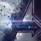 "Avengers 4 Endgame 18""x28"" (45cm/70cm) Canvas Print"