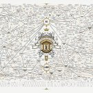 "The Magnificent Multitude of Beer Chart 18""x28"" (45cm/70cm) Canvas Print"