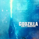 """Godzilla: King of the Monsters   13""""x19"""" (32cm/49cm) Polyester Fabric Poster"""