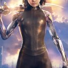 "Alita Battle Angel 13""x19"" (32cm/49cm) Polyester Fabric Poster"