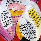 "Henri Matisse  The Dream 13""x19"" (32cm/49cm) Polyester Fabric Poster"