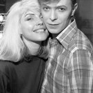 """Debbie Harry  David Bowie  18""""x28"""" (45cm/70cm) Canvas Print"""