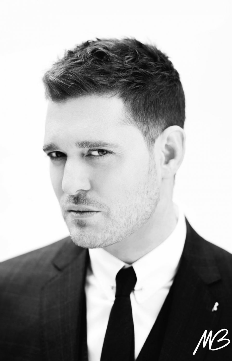 "Michael Buble  18""x28"" (45cm/70cm) Canvas Print"