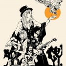 "Fleetwood Mac  Stevie Nicks  18""x28"" (45cm/70cm) Canvas Print"