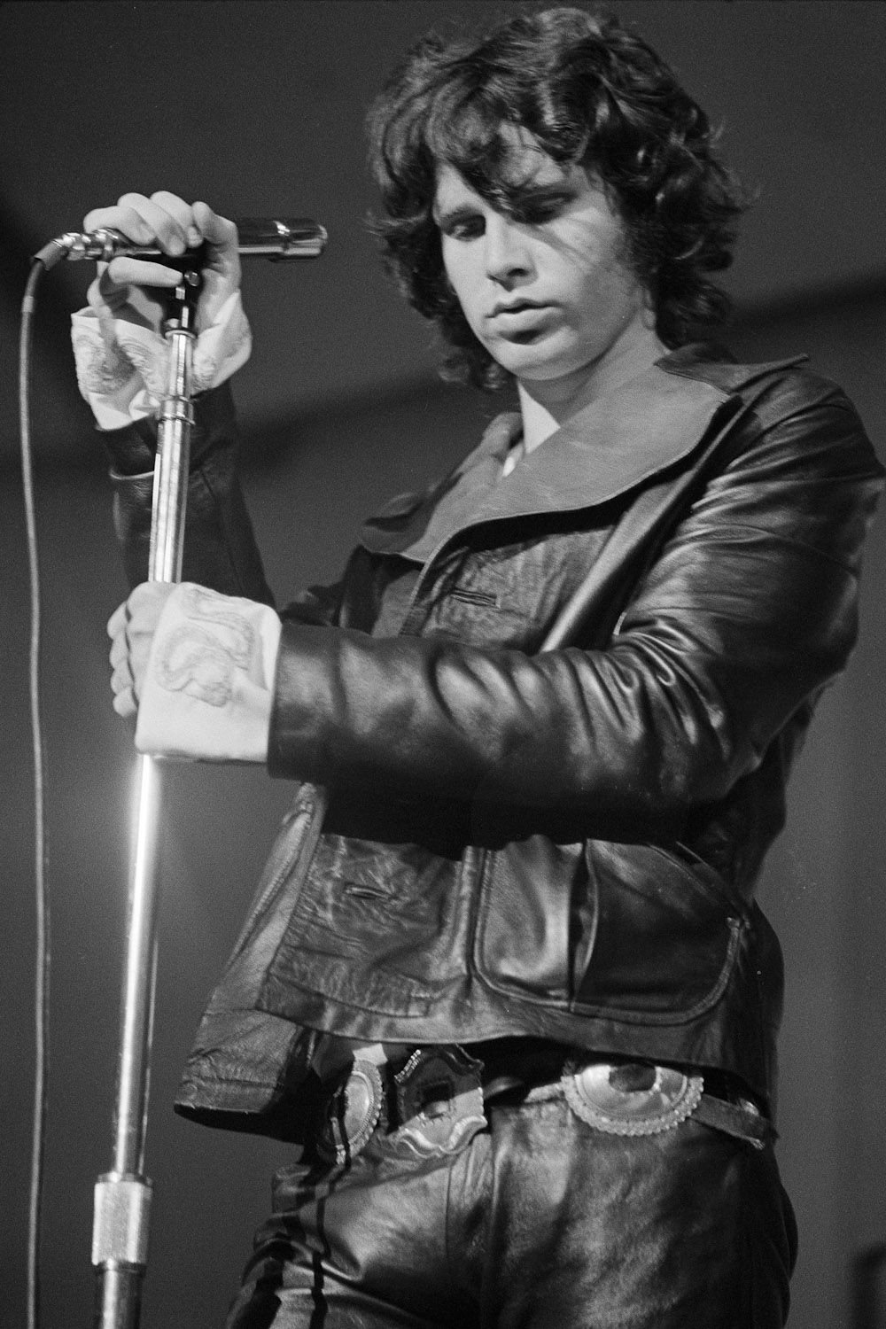 "Jim Morrison  18""x28"" (45cm/70cm) Canvas Print"