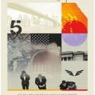 "Mumford & Sons 18""x28"" (45cm/70cm) Canvas Print"