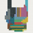"""Periodic Table of Heavy Metal Bands 18""""x28"""" (45cm/70cm) Canvas Print"""